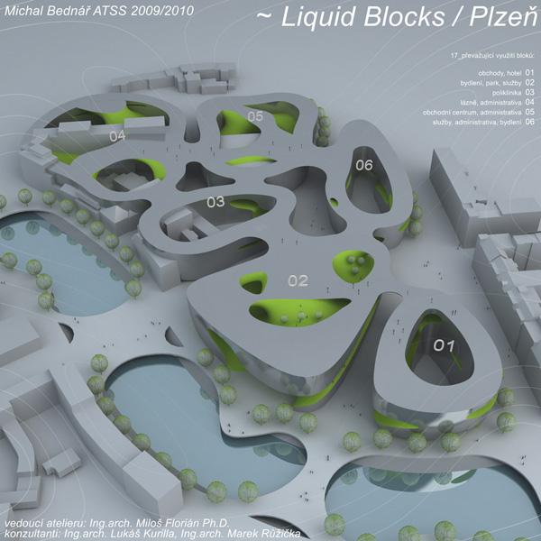 Využití minimálních ploch v architektuře (Ateliér FLOW Studio Florián)