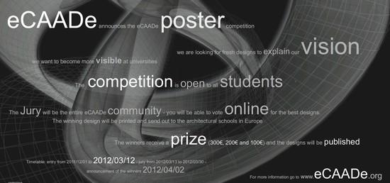 Studentská soutěž eCAADe