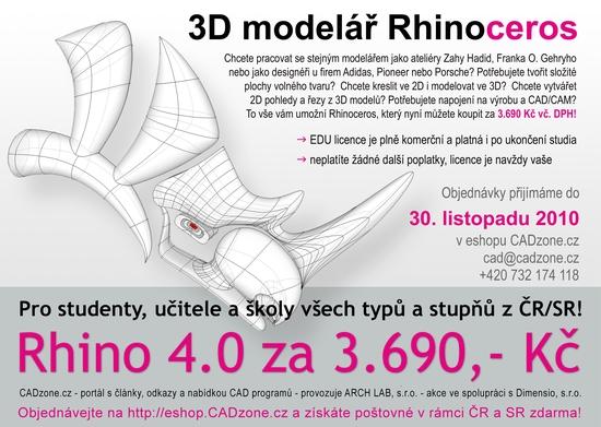 akce rhino EDU